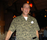 Gilbert, Our Server At Boma-Flavors Of Africa Restaurant In Animal Kingdom Lodge Jambo House