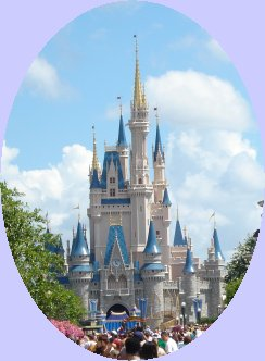 Main Street view of Cinderella's Castle at Disney World