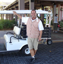 Disney Cast Member Bruce Alpart With His Limo. Great Guy!