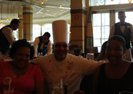 The Chef Juan With My Sister Dianne And My Daughter Renae