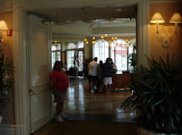 My Sister Dianne Standing At The Entrance To Citrico's Lobby
