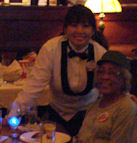 Ti Ti At The Hollwood Brown Derby  Takes A Moment To Pose With My Mom