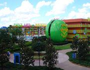 A View Of Pop Century Resort In Disney World
