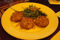 The Crab Cakes That The Turf Club Bar & Grill Serve For An Appetizer Are Delicious!