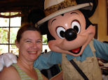 Mickey Mouse with Cindy