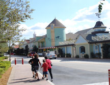 A View From The Bustop Of The Springs Section Of Saratoga Springs Resort & Spa